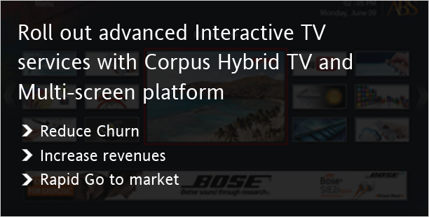 Interactive TV Services with Corpus Hybrid TV